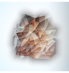 Geometric triangular abstract background vector