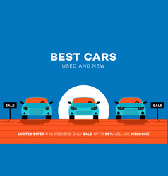 Best cars in the city for vector