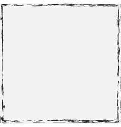 Border Grunge Background vector image vector image