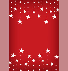 Falling star line abstract red background vector
