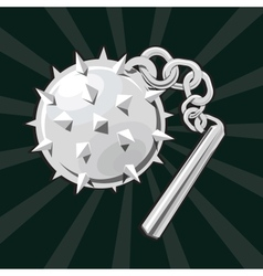 Flail icon vector image