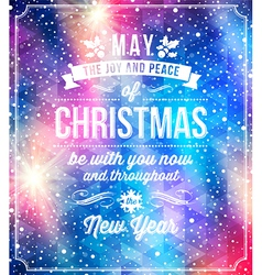 Christmas lettering greetings vector