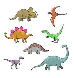 Dinosaurus vector image