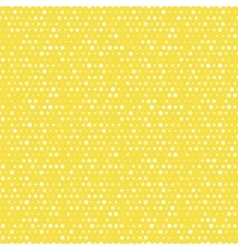 Light yellow and white dotted seamless vector image vector image
