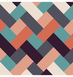 Retro style abstract stripes background vector image