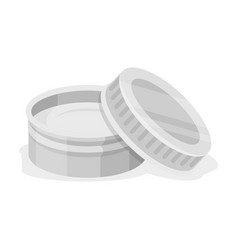 After shave creambarbershop single icon in vector
