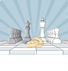 checkmate vector image vector image