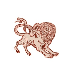 Chimera pouncing etching vector
