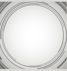 Concentric circles abstract element vector