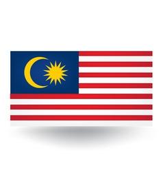 Malaysia Flag vector image vector image