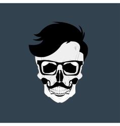 Skulls grunge dead vector