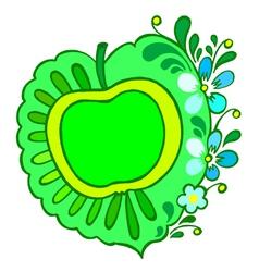 greening vector image