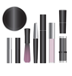 cosmetics set 1 vector image vector image