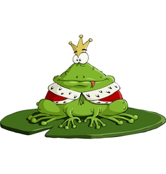 King frog vector