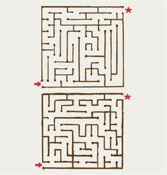 maze vector image