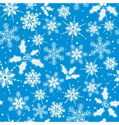snow wallpaper vector image vector image