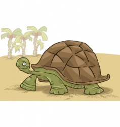 Big turtle vector