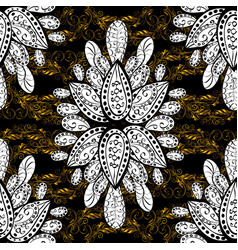 elegant classic pattern seamless abstract vector image vector image