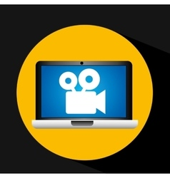 Film movie online digital technology graphic vector
