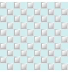 Geometric pattern on a blue background vector