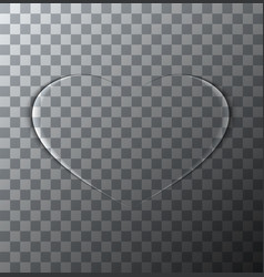 modern valentines day background heart vector image
