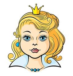 Princess girl vector