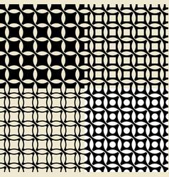 set of vintage wallpaper pattern seamless vector image vector image