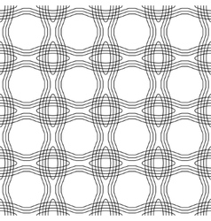 Seamless wavy background vector image vector image