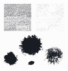 Grunge pack seamless texture vector