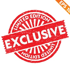 Stamp sticker limited collection - - eps10 vector