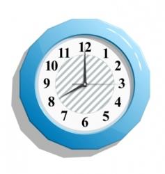 glossy clock vector image