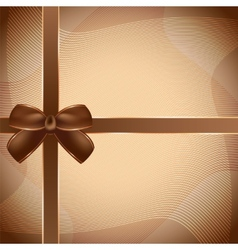Cover of the present box background vector