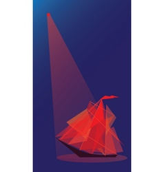 Scarlet sails vector