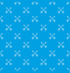 Arrows lgbt pattern seamless blue vector