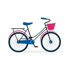 Street Bike Flat vector image