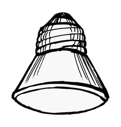 Led lamp vector