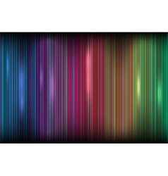 Bright colored stripes effect of the northern vector