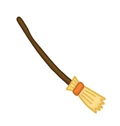 Broom vector image