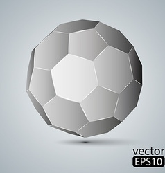 geometric figure Icosahedron vector image