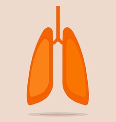 lung vector image