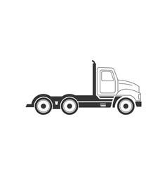 Truck-380x400 vector image vector image