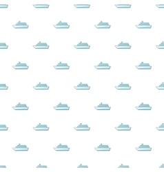 Passenger vehicle pattern cartoon style vector