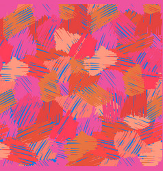 abstract seamless background with free hand vector image