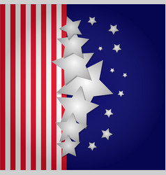 Happy independence day banner vector