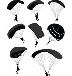 Parachutes vector