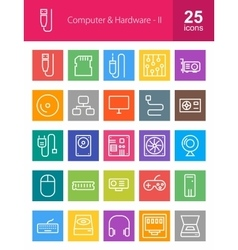 Computer and hardware vector
