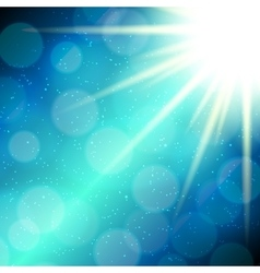 Abstract magic light background vector