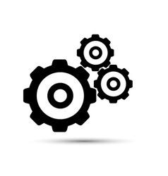 Black gearwheel mechanism in vector