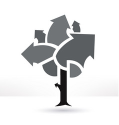 Business tree vector