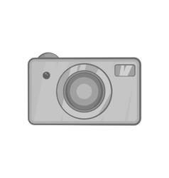 Camera icon black monochrome style vector image vector image